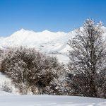 Gudauri ski resort area