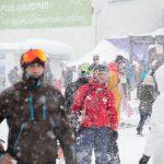 Gudauri snowfall powder day