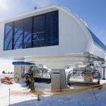 Gudauri modern ski lift