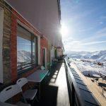 Gudauri club2100 balcony