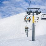 Gudauri top chair lift