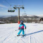 Sälen hundfjället skiing