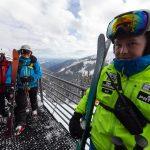 Jasna Nizke Tatry skiers