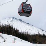 Vysoke Tatry Tatranska Lomnica ski gondoli