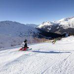 Bormio Cima Piazzi - San Colombano skiers