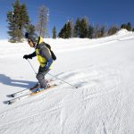 Bormio Cima Piazzi - San Colombano skier